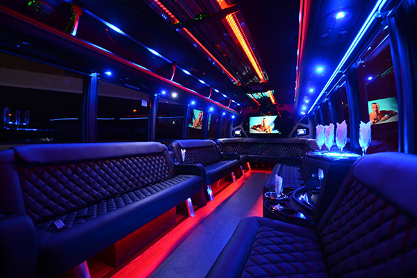 40 Passenger Party Bus Rental Irvine