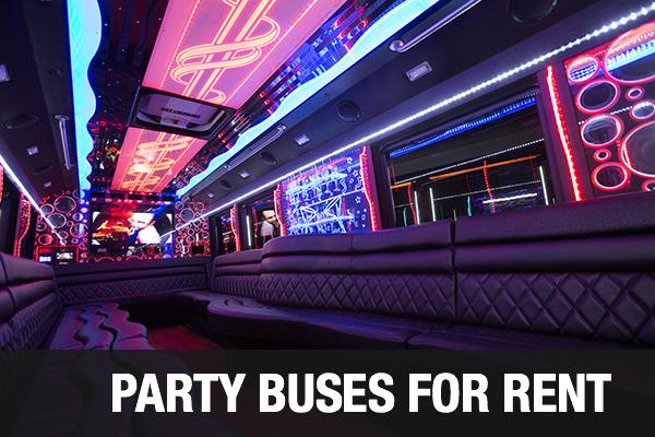 Party Bus Irvine Service